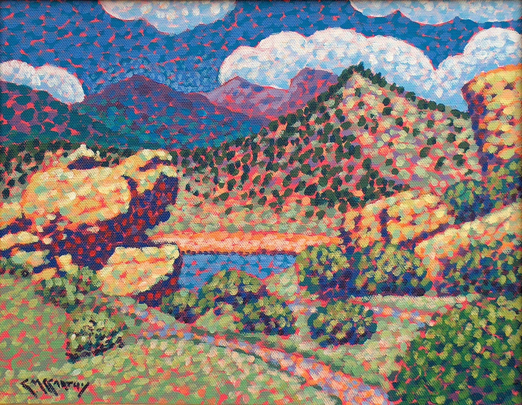 Landscape, Mary's Lake