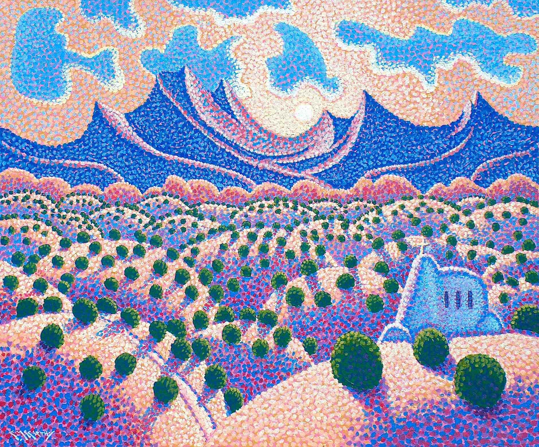 Sundown Over The Land Of Enchantment