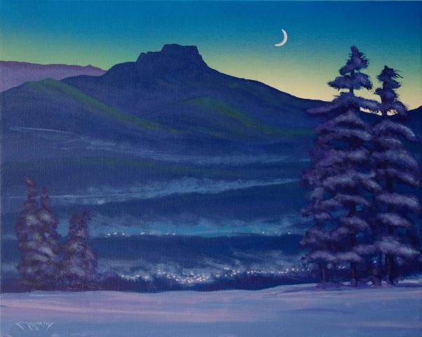 Winter Evening Trinidad, Colorado
