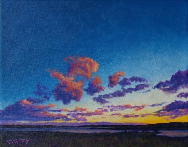 Twilight Over Spruce Creek