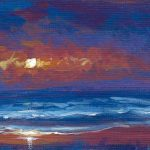Sunset Beach No.1 ACEO